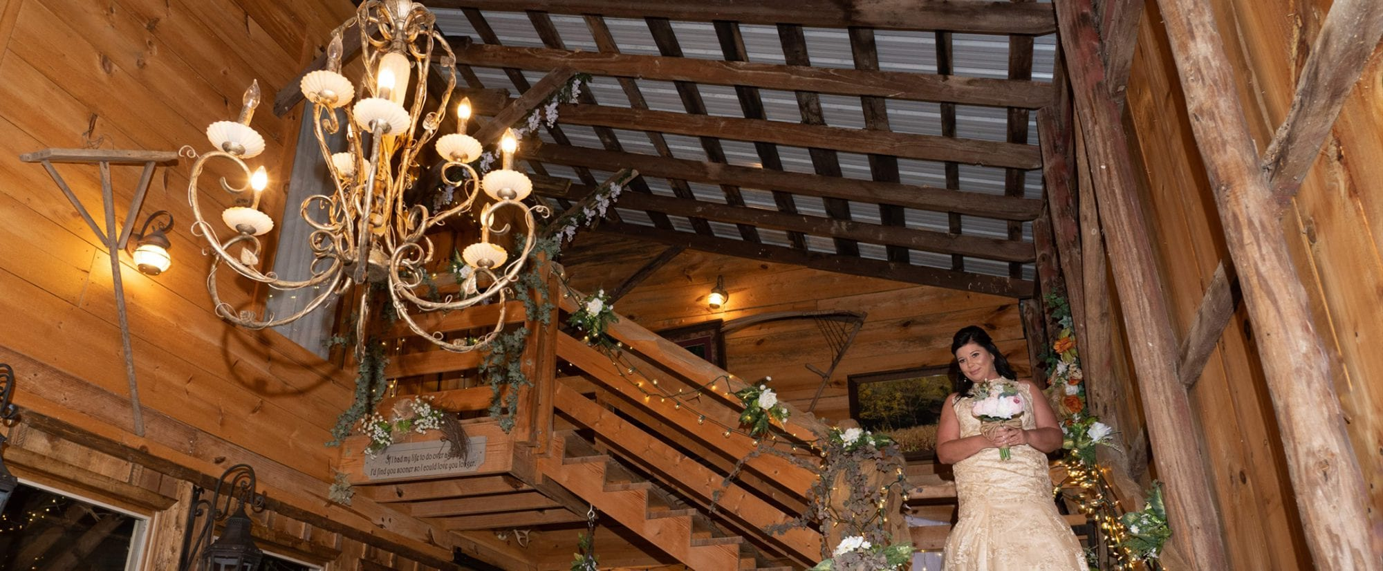 The Chandelier wedding ceremony site in Pigeon Forge, TN