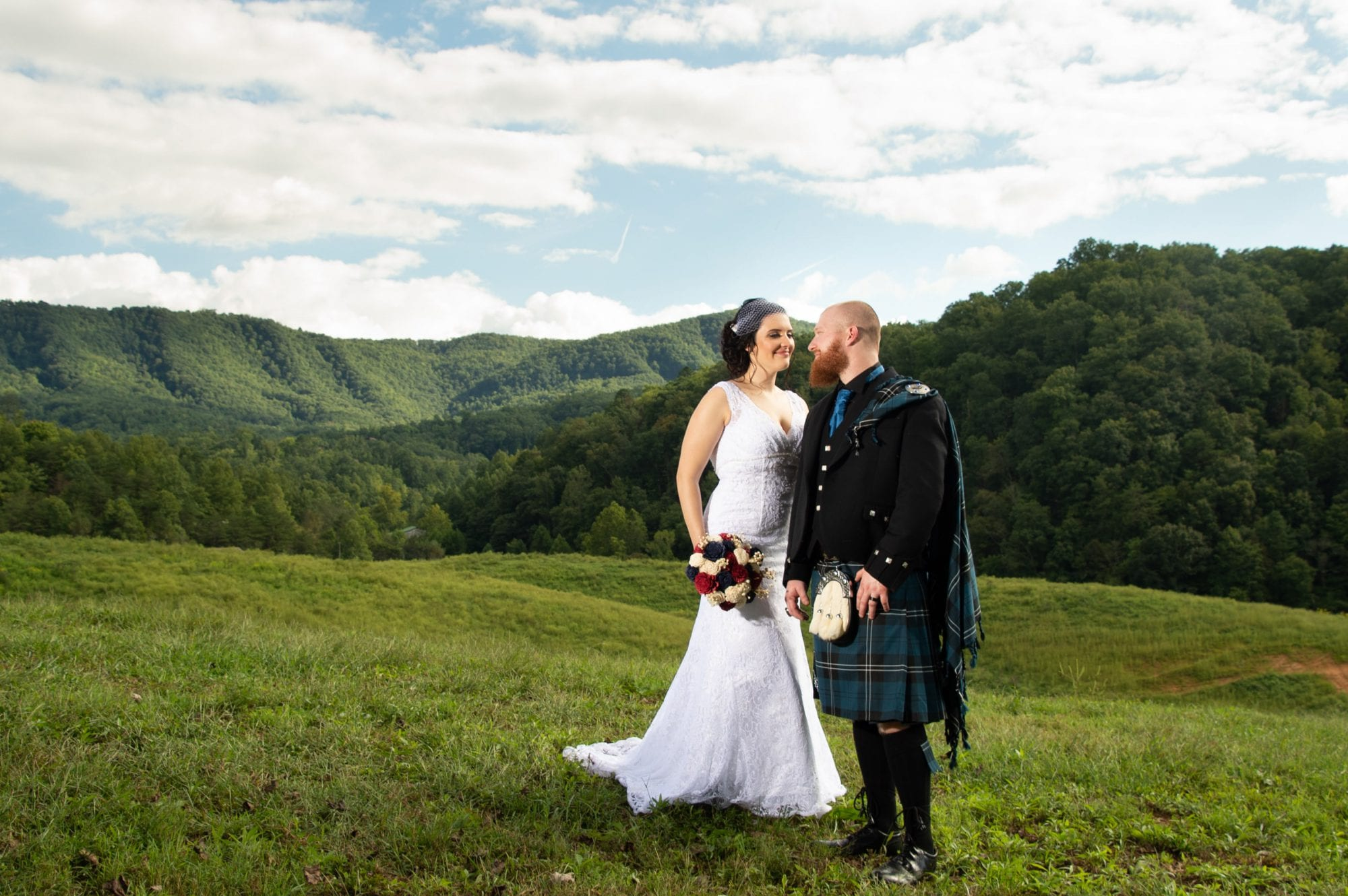 Pet family wedding Pigeon Forge