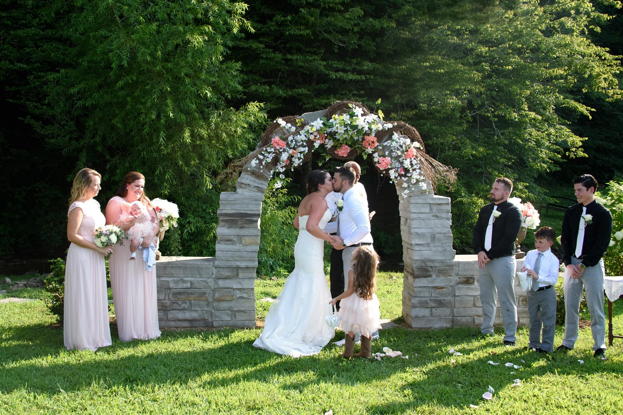 Pigeon Forge Outdoor Weddings