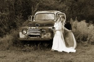 Vintage Weddings Old Truck Gatlinburg