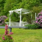 White Wedding Pergola